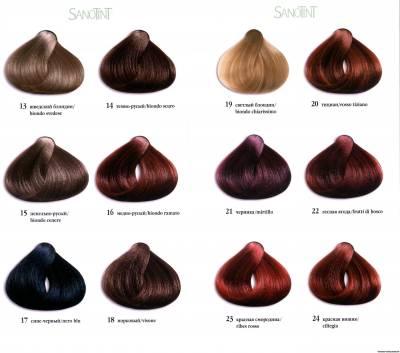 Цвет волос табачный
